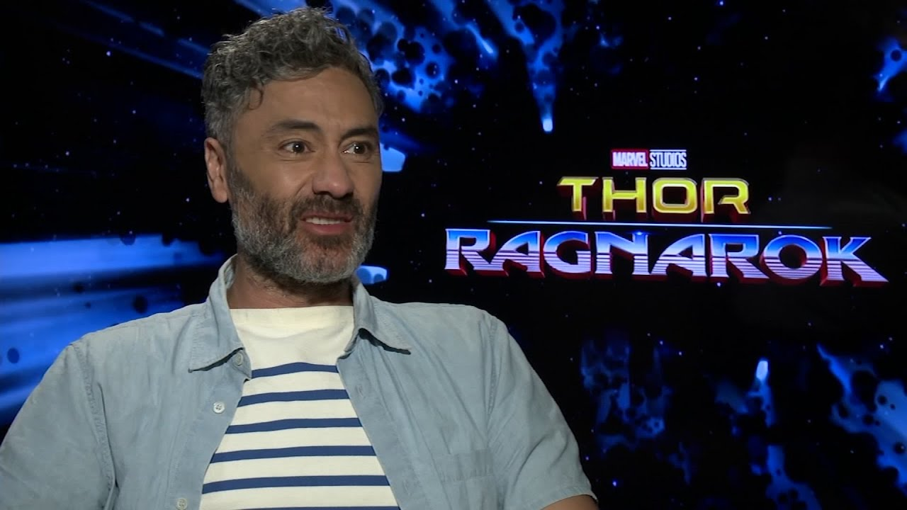 Image result for taika waititi thor press
