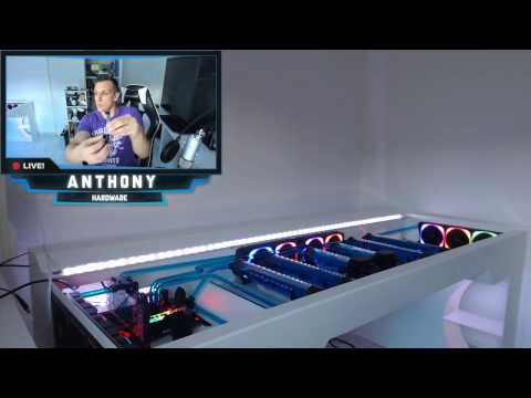 Setup gaming room bureau 2016 am lioration et constru for Bureau youtubeur