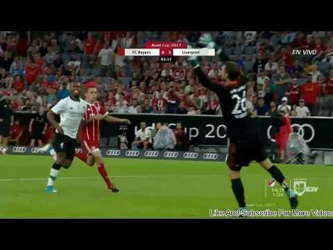 HIGHLIGHT Extended Bayern Munchen  vs Liverpool 2 Agustus 2017