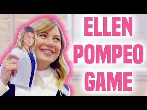 Ellen Pompeo   Best Meredith Grey Quotes Game