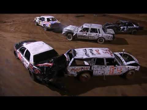Demolition Derby  10 14 17 Southern Raceway