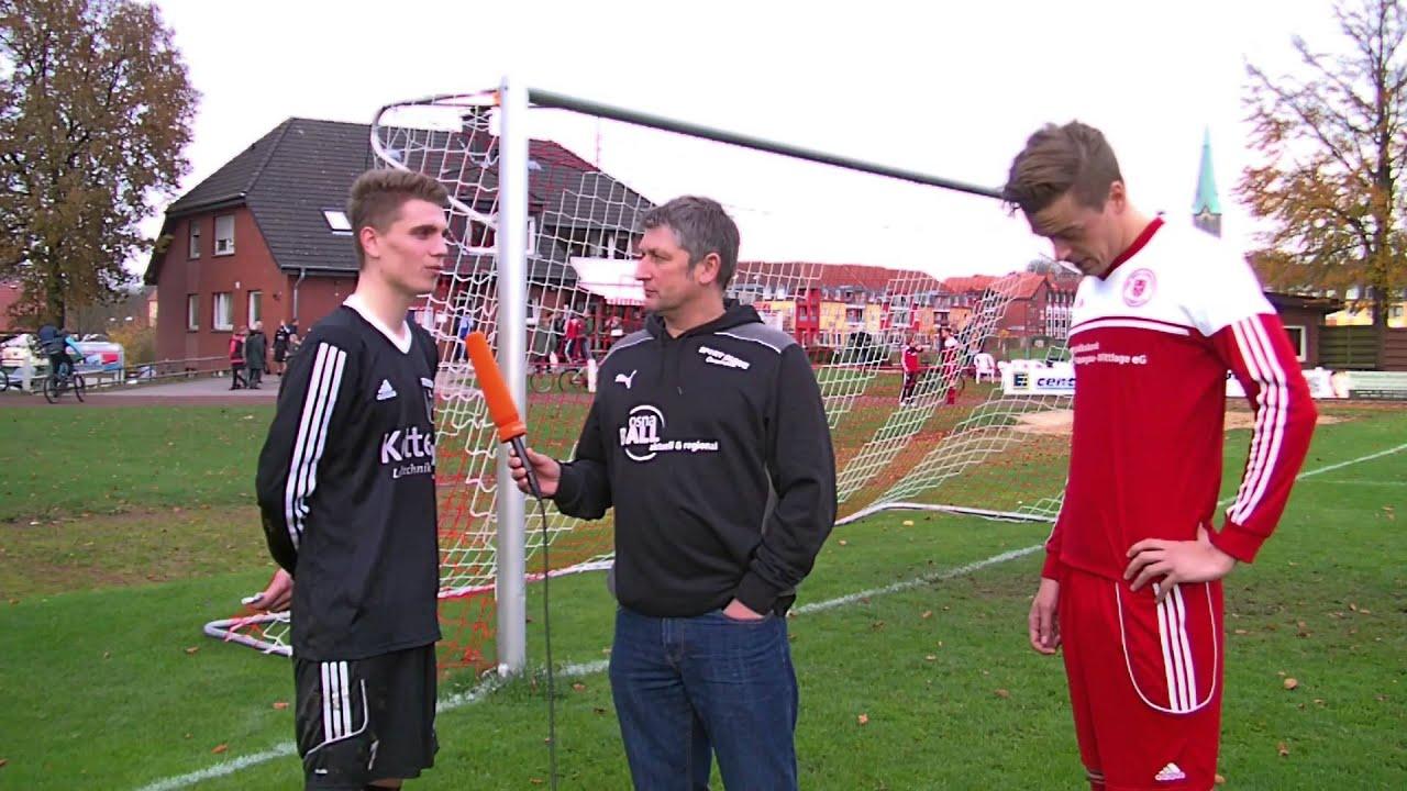 Bezirksliga  Christopher Cook (SC Rieste) und David