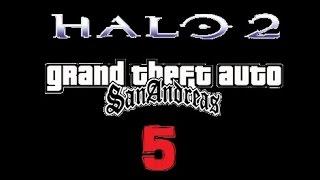 Halo 2 GTA san andreas- Loquendo Capítulo 5: El Ícono Sagrado (HD)