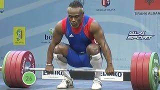 2013 European Weightlifting Championships, Men 94 kg \ Тяжелая Атлетика. Чемпионат Европы