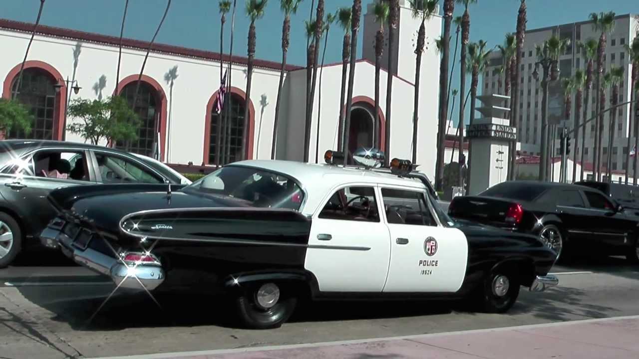 Police Car 1961 Dodge L A Youtube