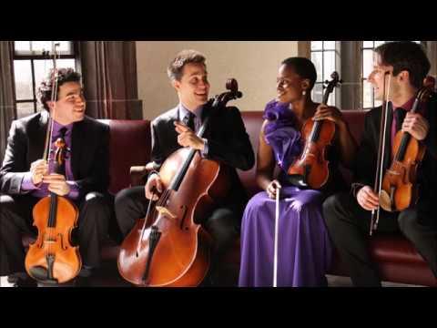 Haydn - Allegro con spirito from quartet op. 76/1, played by Odin Quartet