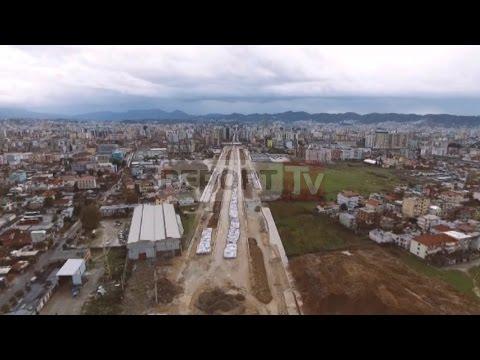 Report TV - Bulevardi i ri i Tiranës, Rama e Veliaj vendosin pllakën e parë