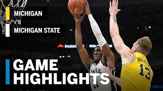 Highlights: Winston Leads MSU to B1G Tourney Title | Michigan State vs. Michigan | March 17, 2019