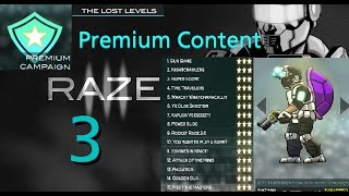 Raze 3 - Premium Content Overview