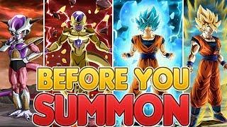 BEFORE YOU SUMMON: NEW TRANSFORMING Goku & Frieza Dual Dokkan Fest! Dragon Ball Z Dokkan Battle