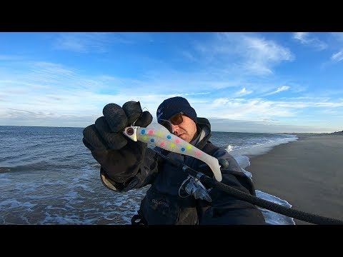 The Wonderful Wonderbread-NJ Solo Surf Fishing Mission