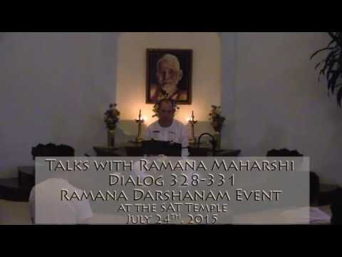 Talks with Sri Ramana Marharshi: Talk 328-331 ~ Dhyana, Cause of Suffering, and Peace