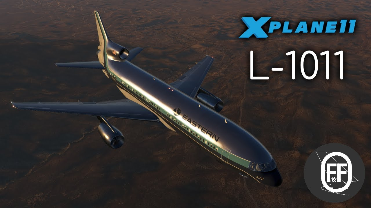 Lockheed L-1011-200 and L-1011-500 for X-Plane 11!