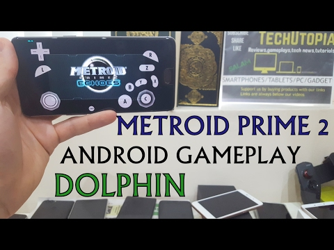 Metroid Prime 2 Echoes Gameplay Android Dolphin 5 Best Settings/Smartphone ONEPLUS 3T