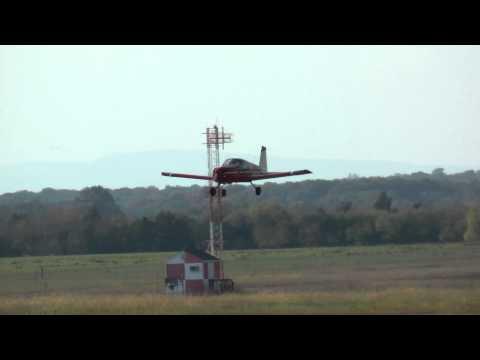 Grumman AA-1B, N8872L low pass at KHWY on 101110 at 1622