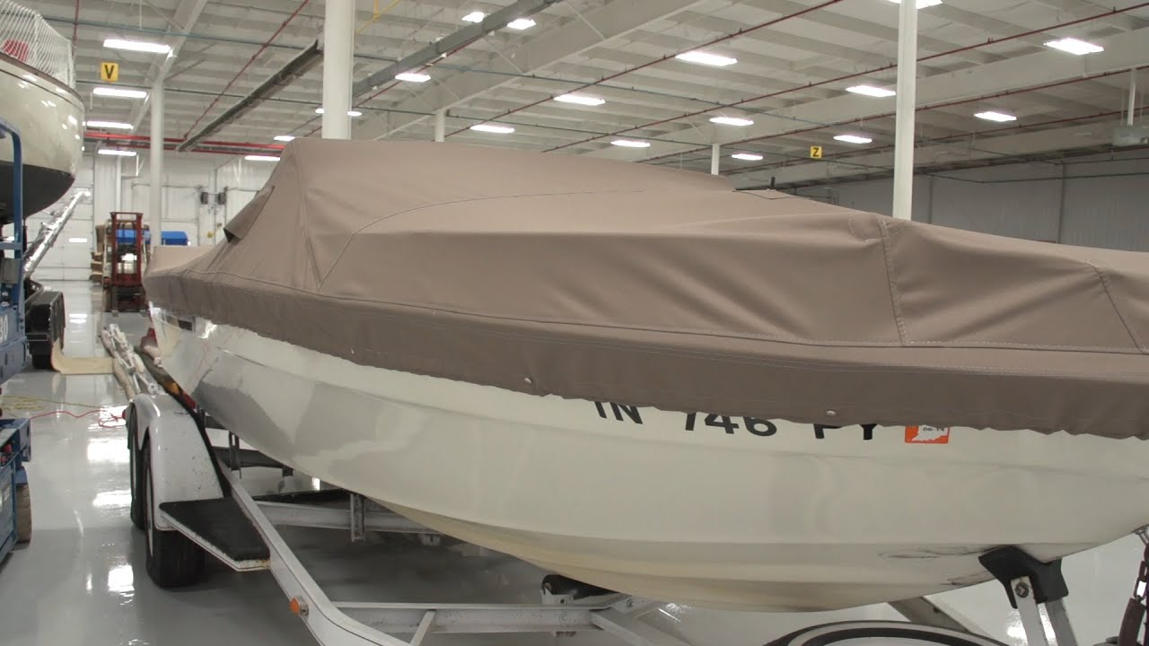How To Make A Power Boat Cover Youtube