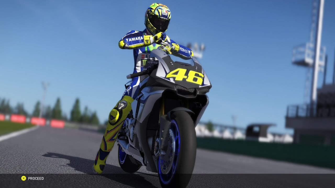 Yamaha YZF R1M - Valentino Rossi The Game - MotoGP 16 - Test Ride Gameplay (PS4 HD) [1080p60FPS ...