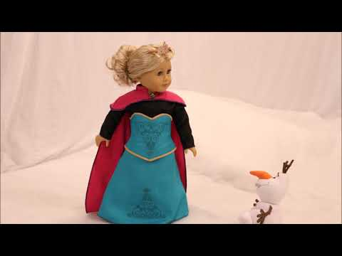 American Girl Doll Frozen Movie - Episode 2 Stop Motion AGSM