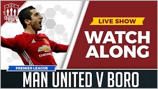 Manchester united vs middlesbrough live stream watchalong
