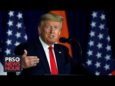 News Wrap: Trump criticizes Supreme Court's Ginsburg, Sotomayor