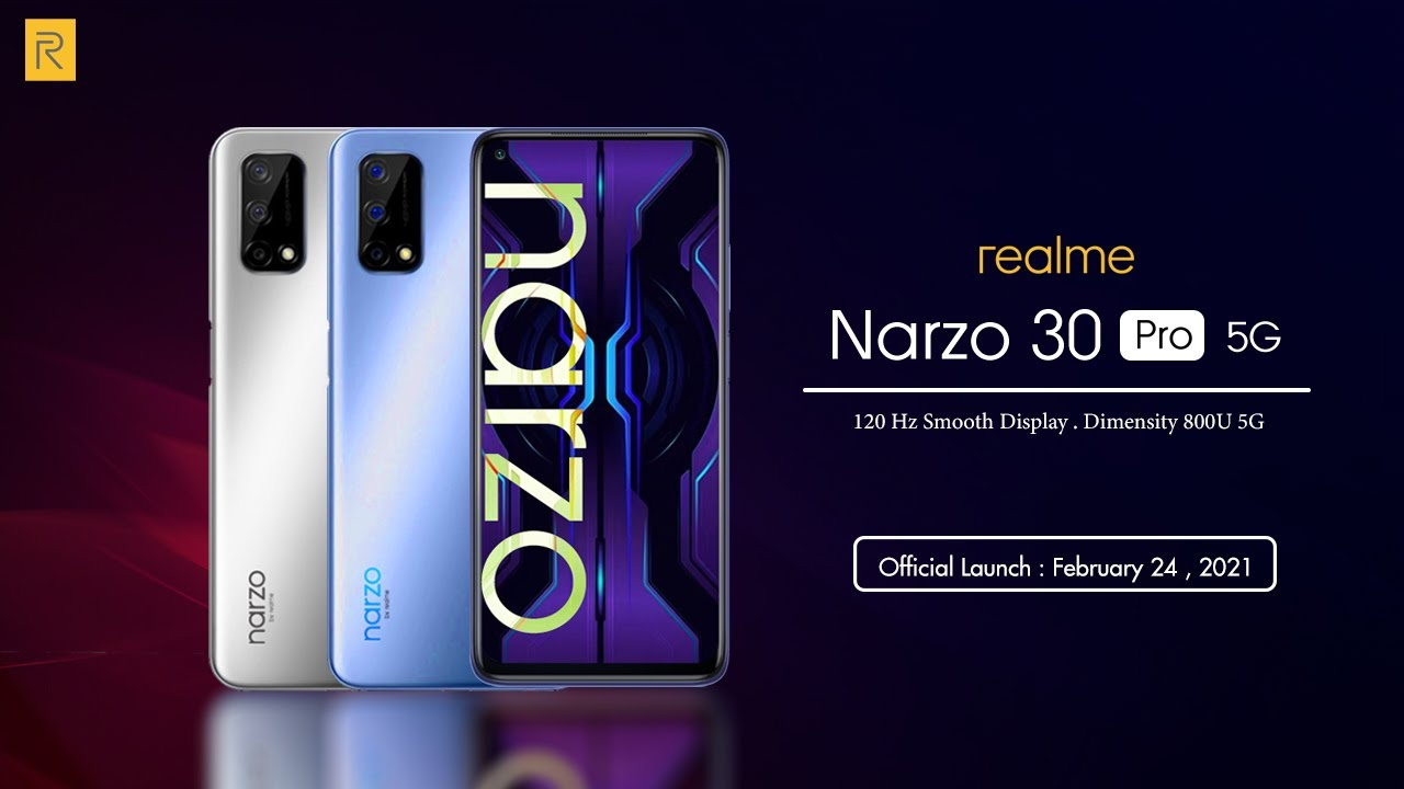 Download Google Camera 8.1 for Realme Narzo 30 & 30 Pro (5G)