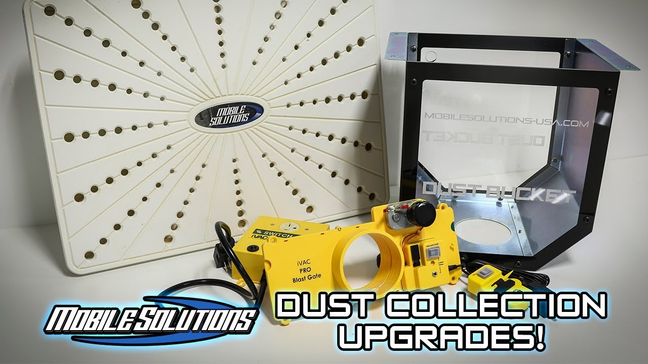SAVE TIME w/ Dust Collection Upgrades!