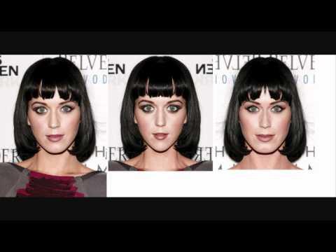 Katy Perry Facial Symmetry