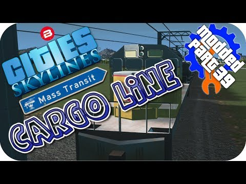 Cities Skylines Gameplay: NEW CARGO ONLY...