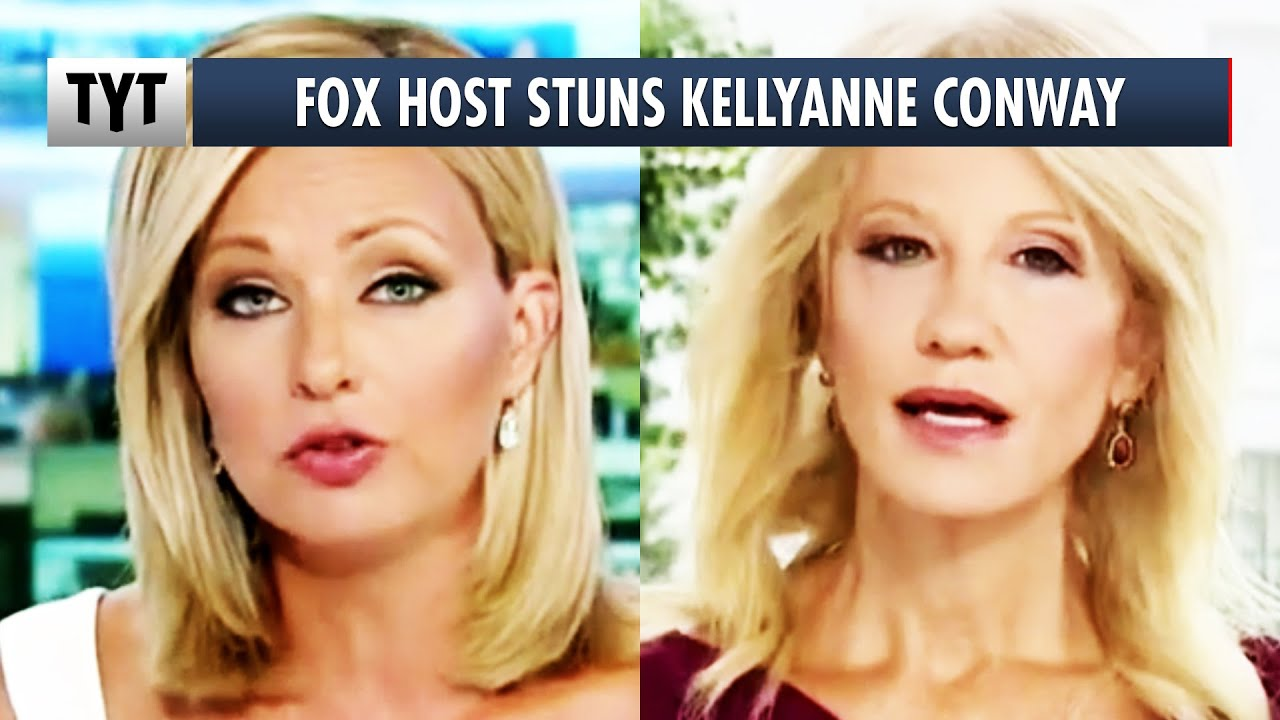 Fox Host STUNS Kellyanne Conway