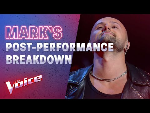 Semi Final: Mark Breaks Down On Stage After Brutal Performance | The Voice Australia 2020