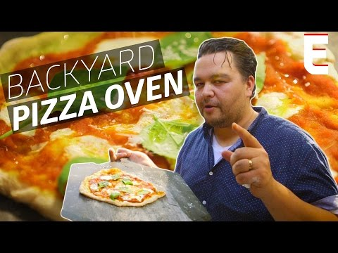 Watch: How to Turn Your Backyard Grill Into a DIY Pizza Oven