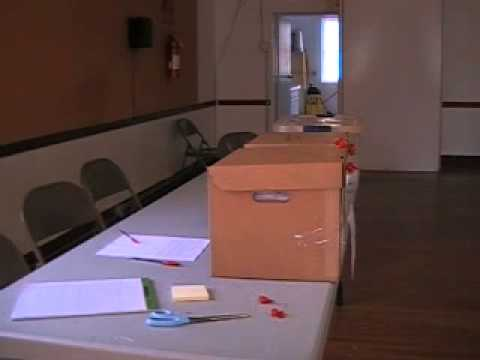 ES&S voting equipment demonstration - Camera 3