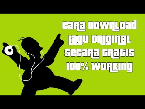 Cara Download Original Lagu tanpa software 100% Working