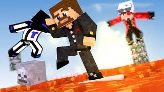 ПОЛ ЭТО ЛАВА, ИСПЫТАНИЕ ЮТУБЕРОВ - ЖЕСТОКИЙ Minecraft Parkour