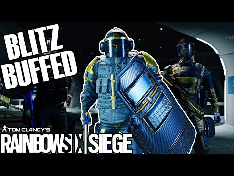 Blitz Is Overpowered - Rainbow Six Siege (Operation Chimera TTS)