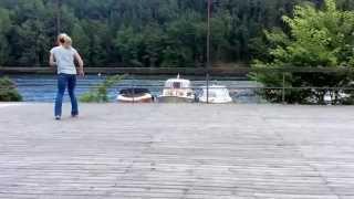 Ta Mig Tillbaka (Take Me Back) linedance demo Choreographer: Jessica Boström
