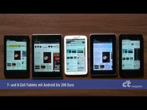 g nstige 7 und 8 zoll tablets youtube. Black Bedroom Furniture Sets. Home Design Ideas
