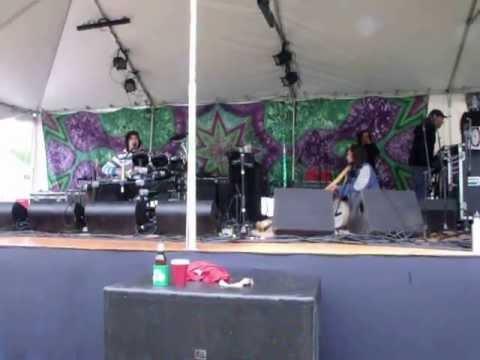 Didging along side Resin Ed @ Strangcreek Music Festival May 2013, Greenfield Ma.
