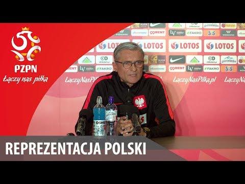 Konferencja reprezentacji Polski (Wrocław, 18.03.2018)