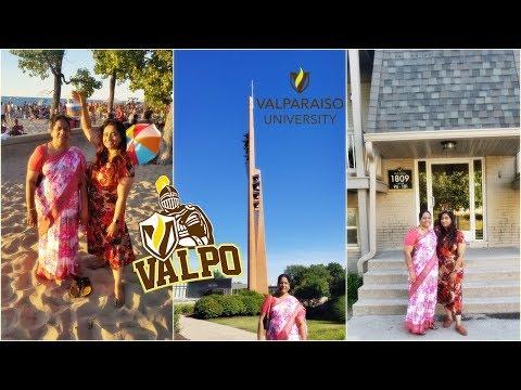 NRI Vlog Alert ⚠ : Valparaiso University - Place Where It All Started 👩🏻🎓💝