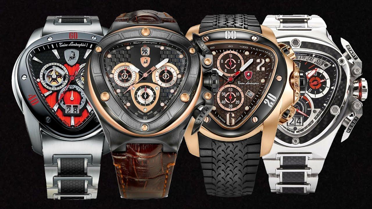 Tonino Lamborghini Watch Collection Youtube
