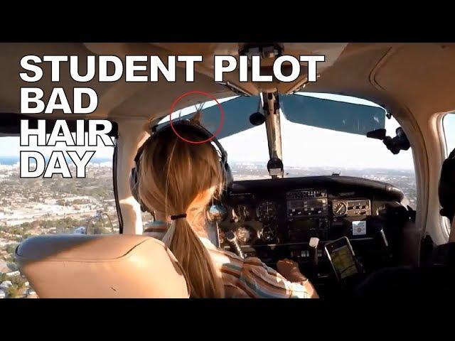 Still Working on Landings & Headset Hair - Fly Lesson 23