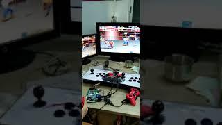 가정용 3D MAX2400in1 오락 게임기 메탈본체