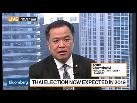 Thai Election Now Expected in 2019