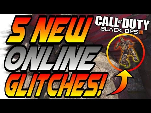Top 5 NEW BO3 GLITCHES #1! - Secret Ledges, Wallbreaches (BO3/Black Ops 3 5 Things)