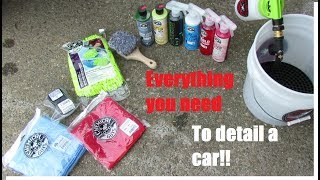 I Detailed a Car Using Only the Chemical Guys HOL148 Bucket Kit