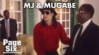 Michael Jackson meets with Robert Mugabe in never-before-seen footage | Page Six Celebrity News