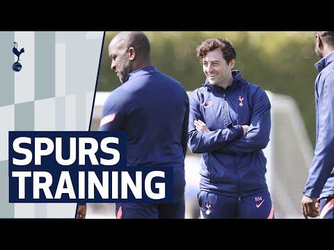 RYAN MASON LEADS TRAINING AHEAD OF FIRST GAME AS INTERIM HEAD COACH | Spurs v Southampton