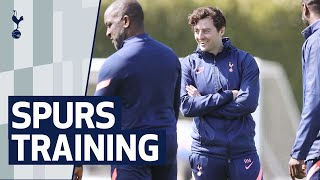 RYAN MASON LEADS TRAINING AHEAD OF FIRST GAME AS INTERIM HEAD COACH | Spurs v Southampton