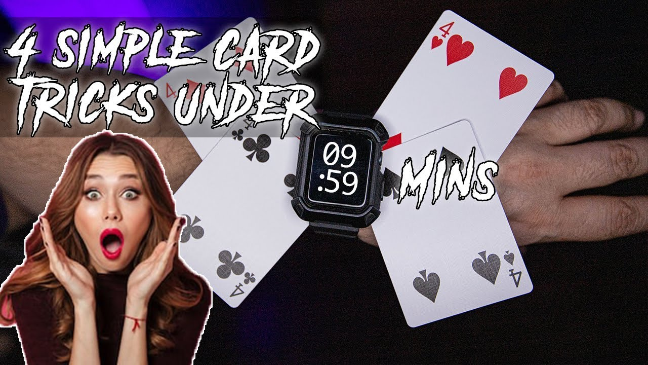 learn 4 simple and amazing card tricks in under 10 mins